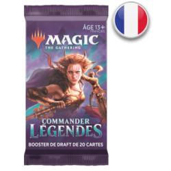 Commander Légendes : Boosters FR