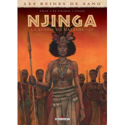Reines de sang (Les) - Njinga, la lionne du Matamba - Tome 1 - La lionne du Matamba - 1/2