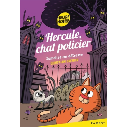 Hercule, chat policier - Poche