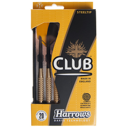 Fléchettes Club Acier HARROWS 20 g.