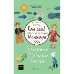 3 histoires de Marius et Anna - Coffret en 3 volumes