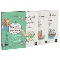3 histoires de Clara et Anatole - Coffret en 3 volumes