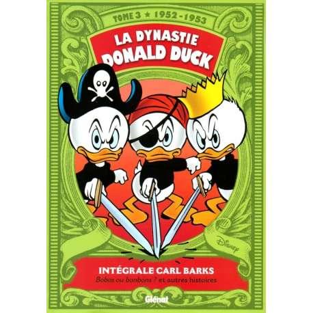 Dynastie Donald Duck (La) - Tome 3 - Bobos ou bonbons ? et autres histoires