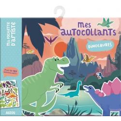 Mes autocollants Dinosaures - Avec plus de 180 autocollants ! - Grand Format