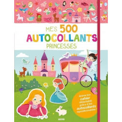 Mes 500 autocollants princesses - Grand Format
