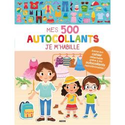 Mes 500 autocollants Je m'habille - Album