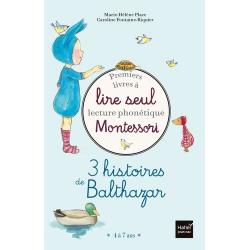 3 histoires de Balthazar - Premiers livres à lire seul lecture phonétique Montessori - Album