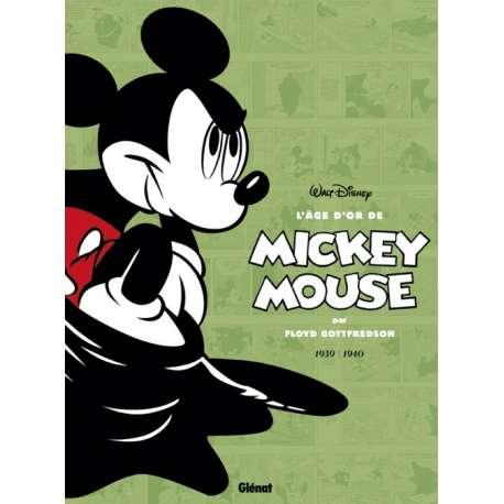 Mickey Mouse (L'âge d'or de) - Tome 3 - Mickey contre le Fantôme noir et autres histoires (1939-1940)