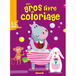 Mon gros livre de coloriage - Hippopotame - Album