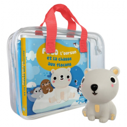 Polo l'ourson et la chasse aux flocons - Avec 1 figurine en plastique - Album