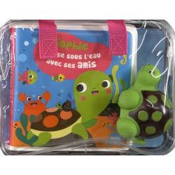Sophie s'amuse sous l'eau avec ses amis - Avec 1 figurine en plastique - Album