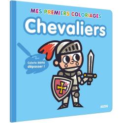 Chevaliers - Colorie sans dépasser !