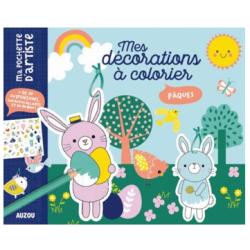 Mes décorations à colorier - Pâques