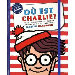 Où est Charlie ? - Tout Charlie dans une édition à mettre dans toutes les poches. Avec un jeu de plateau - Poche