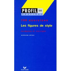 LES FIGURES DE STYLE. Profil 100 exercices, avec corrigés - Poche