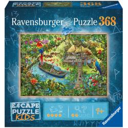 Escape Puzzles Kids - (368 Pièces) Un safari dans la jungle