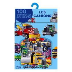Les camions - 100 gommettes autocollantes