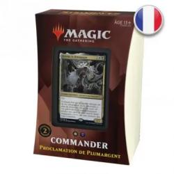 Strixhaven : Deck Commander Proclamation de Plumargent FR