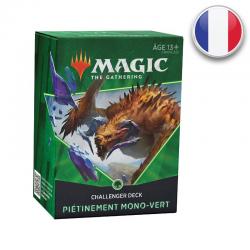 MTG Challenger Deck 2021 - Deck Pietinement Mono-vert (FR)