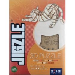 Jigzle Chat étiré