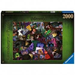 (2000 pièces) - Puzzle Villainous - Méchants Disney