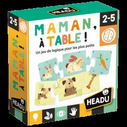 Maman, À Table ! Un jeu de Logique