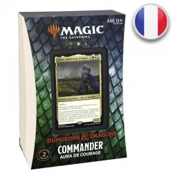 Forgotten Realms : Deck Commander Aura de Courage FR
