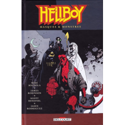 Hellboy (Delcourt) - Tome 14 - Masques & monstres