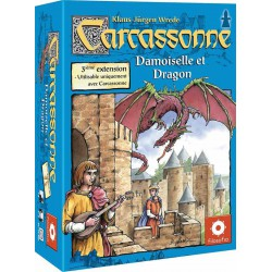 Carcassonne : Ext. 03 - Princesse et Dragon