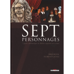 Sept - Tome 9 - Sept personnages