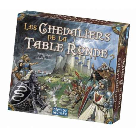 Les chevaliers de la table ronde - Jeu de societe les chevaliers de la table ronde ...