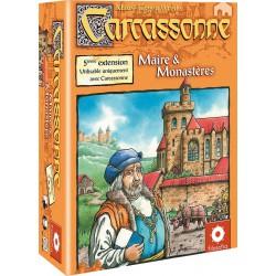 Carcassonne : Ext. 05 - Maire et Monastères