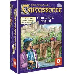 Carcassonne : Ext. 06 - Comte roi et brigand