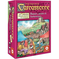Carcassonne : Ext. 08 - Bazars ponts & forteresses