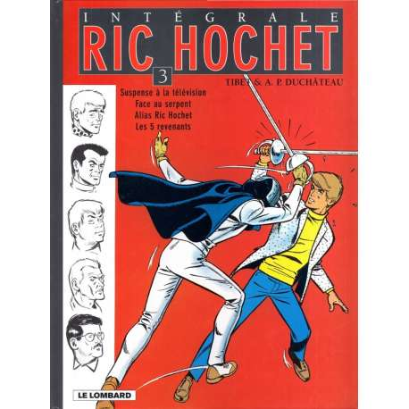 Ric Hochet (Intégrale) - Tome 3 - Tome 3