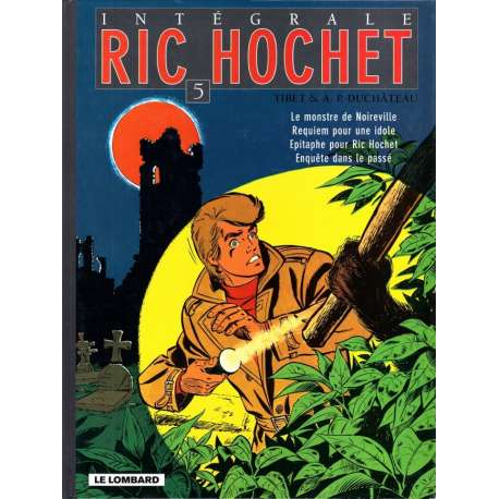Ric Hochet (Intégrale) - Tome 5 - Tome 5