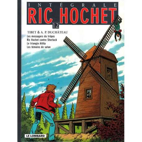 Ric Hochet (Intégrale) - Tome 12 - Tome 12