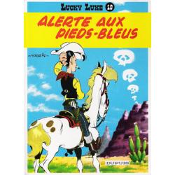 Lucky Luke - Tome 10 - Alerte aux Pieds-Bleus