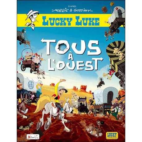 Lucky Luke - Tous à l'Ouest