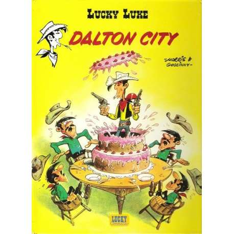 Lucky Luke - Tome 34 - Dalton city