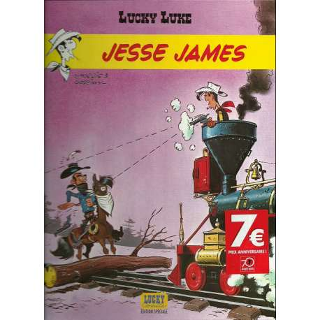 Lucky Luke - Tome 35 - Jesse James