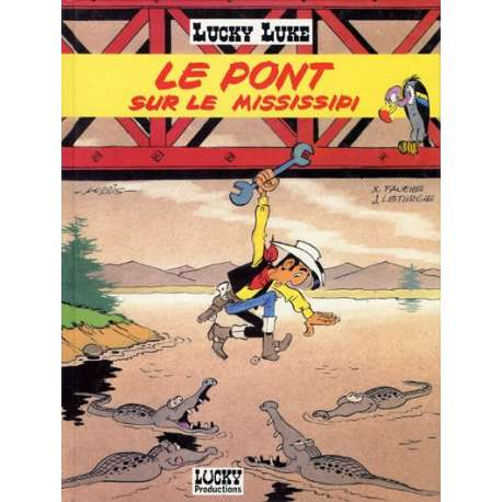 Lucky Luke - Tome 63 - Le pont sur le Mississipi