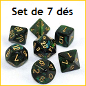 CHESSEX - Set de 7 dés