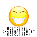 Histoires, imagination et discussion