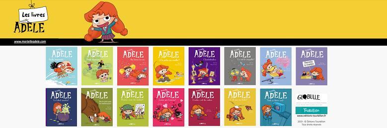 Toute la collection des BD Mortelle Adèle disponible chez LUDIK !