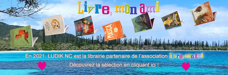 Ludik NC, la librairie partenaire de Livre, mon ami